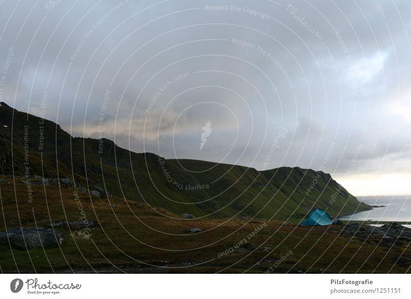 """""""Sonnenuntergang"""" Ferien & Urlaub & Reisen Sommer Meer Einsamkeit Landschaft ruhig Ferne Strand Umwelt Berge u. Gebirge Freiheit außergewöhnlich Felsen träumen"""