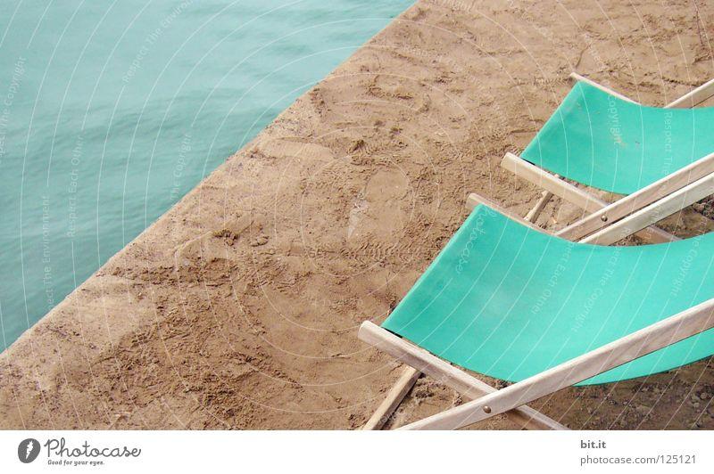 RUHEPLATZ II Natur Ferien & Urlaub & Reisen blau Sommer Wasser Erholung Meer ruhig Strand Küste Stil Hintergrundbild Lifestyle Freiheit fliegen See