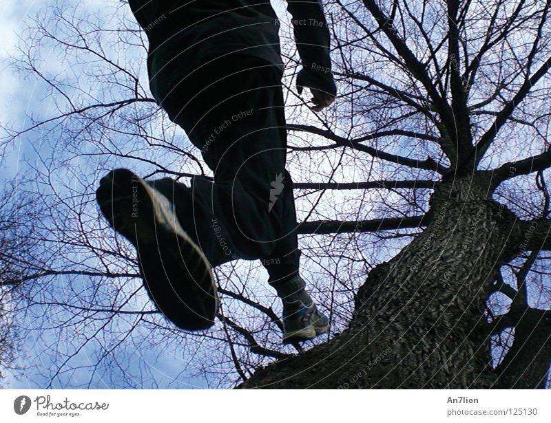 step one Himmel Baum Spielen Schuhe aufwärts Nike