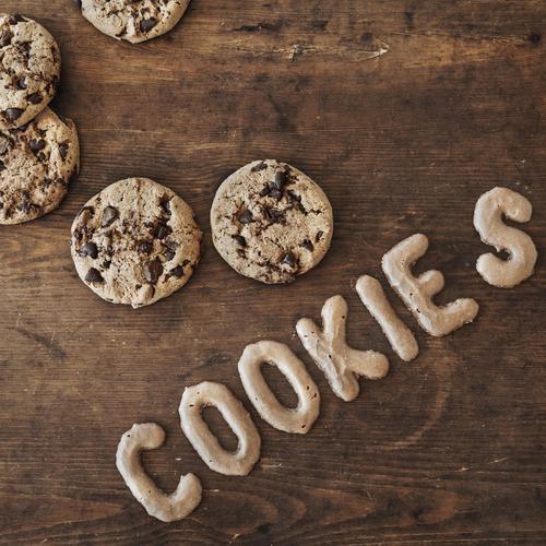 COOKIE S Essen braun Lebensmittel Zufriedenheit Schriftzeichen Ernährung genießen Computer Zukunft Kochen & Garen & Backen süß Internet Süßwaren Getreide