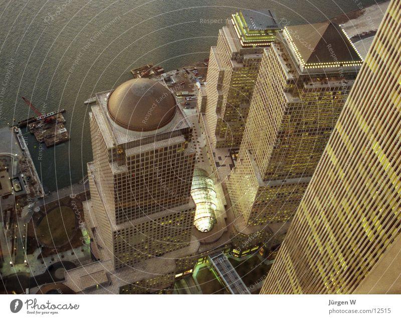 World Financial Center Hochhaus USA New York City Dämmerung Nordamerika World Trade Center