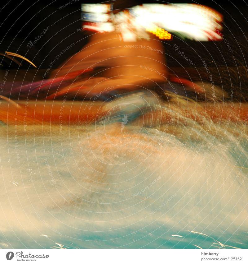 wassergurski Wasser Freude Farbe Sport Spielen Bewegung Wassertropfen Aktion Schwimmbad tauchen