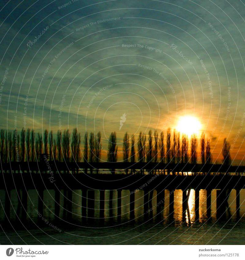 Bremer Sunsetkitsch Sonne Stimmung Romantik Kitsch Himmelskörper & Weltall