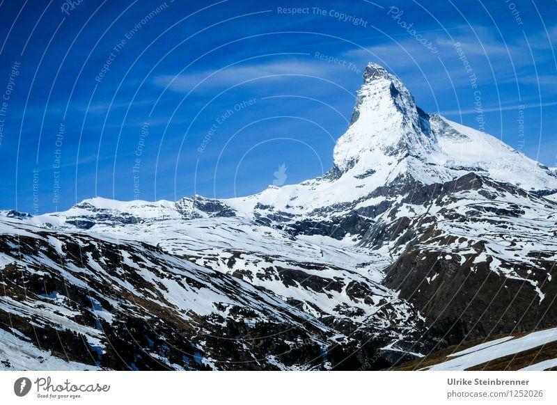 Der Berg rief 1 Ferien & Urlaub & Reisen Tourismus Ausflug Abenteuer Sommer Sommerurlaub Schnee Berge u. Gebirge wandern Umwelt Natur Landschaft Himmel Wolken