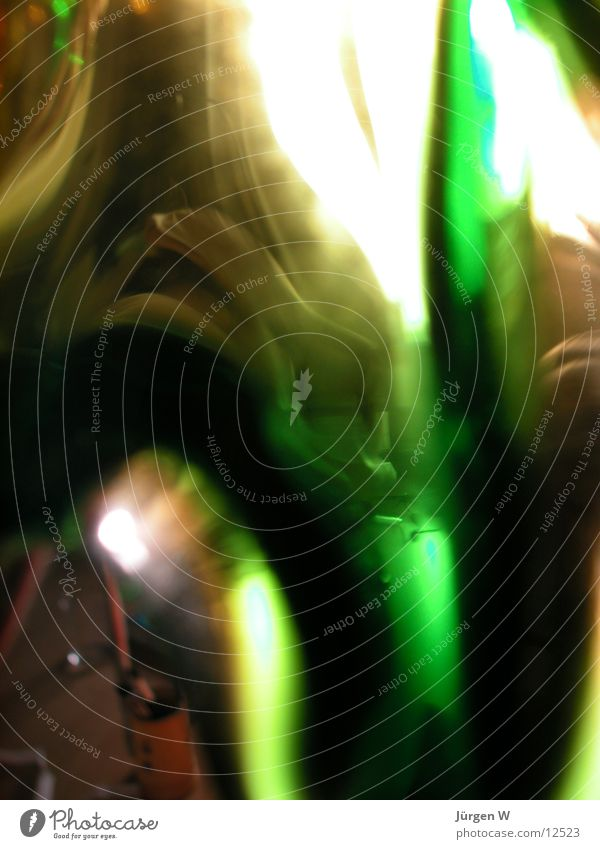 Licht durch grünes Glas 2 grün Farbe hell Glas Dinge