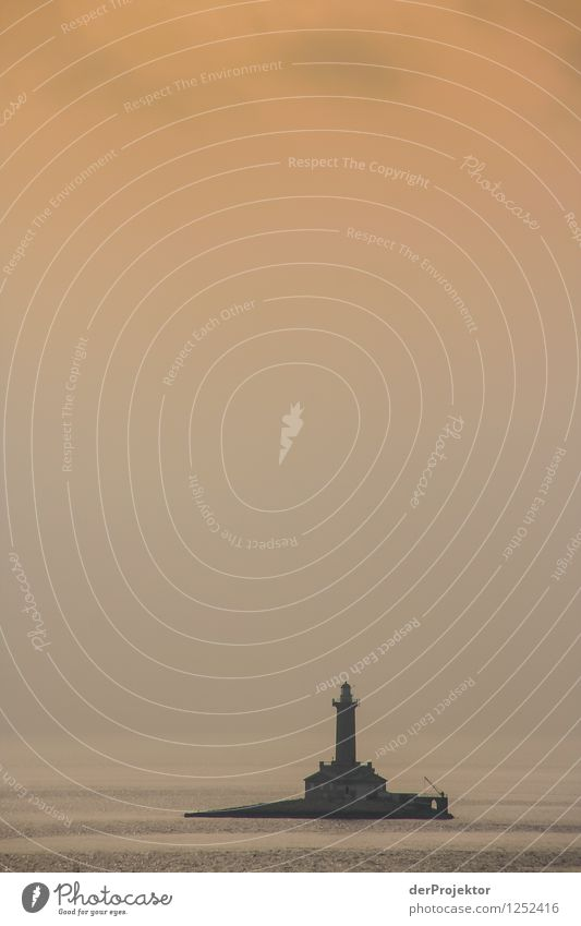 Ganz allein Ferien & Urlaub & Reisen Tourismus Abenteuer Ferne Freiheit Umwelt Natur Landschaft Pflanze Schönes Wetter Felsen Wellen Küste Meer Insel Leuchtturm