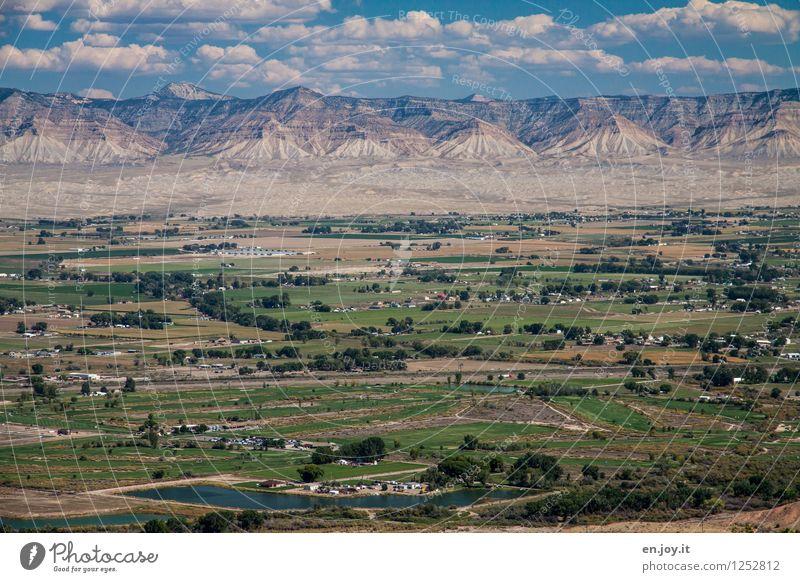 Aussicht Ferien & Urlaub & Reisen Ausflug Abenteuer Ferne Sommer Sommerurlaub Umwelt Natur Landschaft Himmel Wolken Berge u. Gebirge Colorado USA Amerika