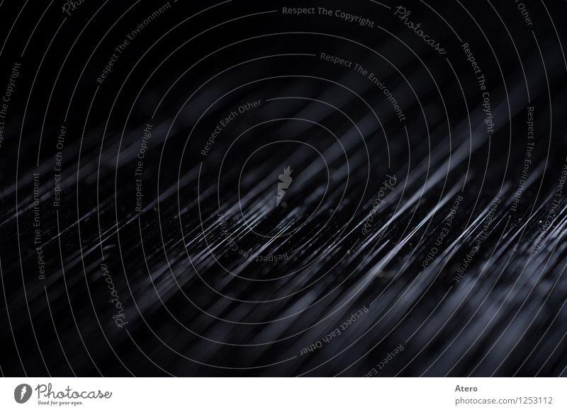 Strokes Computer Metall Kunststoff glänzend leuchten kalt Schwarzweißfoto Makroaufnahme Strukturen & Formen Menschenleer Textfreiraum oben
