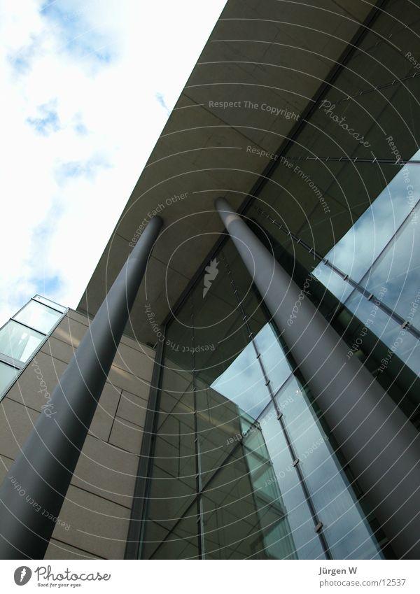 Stilwerk 1 Himmel Architektur Fassade Eingang Säule Düsseldorf Vorderseite Stilwerk