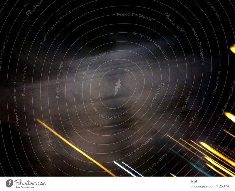 22:16 Licht Abend Nacht dunkel Gebäude Linie Farbe Lampe Straße Bewegung Unschärfe
