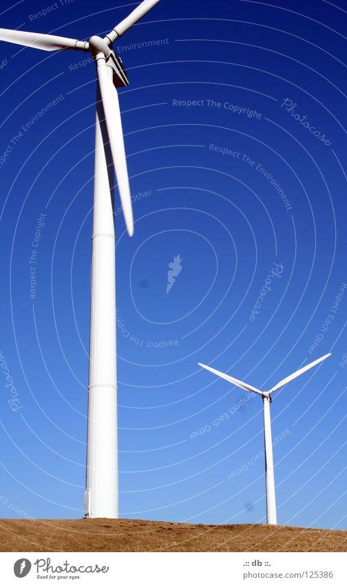.:: Windrad III ::. Sommer Herbst Winter Feld Windkraftanlage balu Himmel