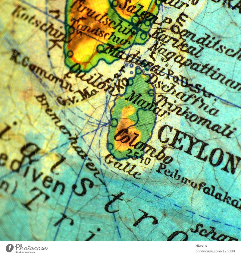 In 20 Tagen um die Welt; Tag5: Ceylon Sri Lanka Indischer Ozean Asien Hinduismus Christentum Islam Tamilen Malaie Kautschuk Kokosnuss Colombo Tsunami