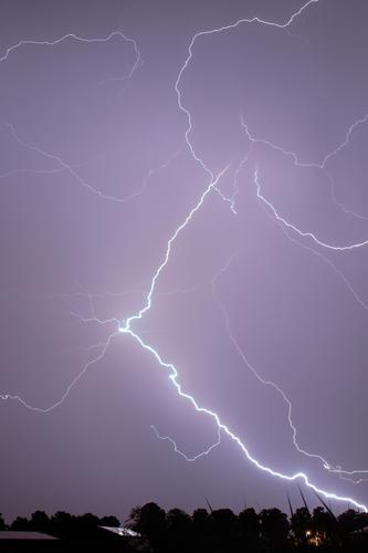 flash Umwelt Natur Landschaft Urelemente Luft Himmel Wolken Gewitterwolken Nachthimmel Stern Horizont Sommer Wetter schlechtes Wetter Unwetter Wind Pflanze Baum