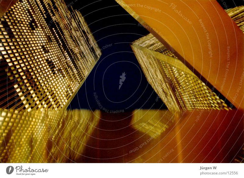 WTC@Night, 1989 Architektur Hochhaus USA Turm New York City World Trade Center