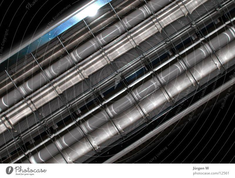 Lampe Dinge verrückt Strukturen & Formen diagonally structure Metall