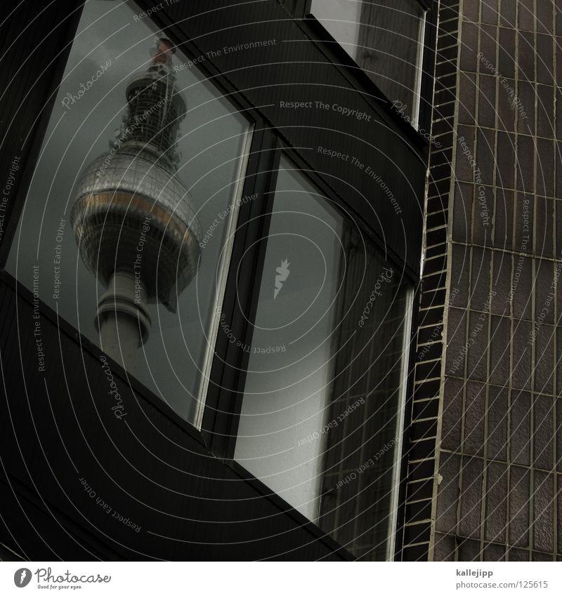 mein freund, mein bester freund... Himmel Wolken Haus Fenster Architektur Berlin Kunst grau fliegen See Lampe Linie springen Tourismus Luft frisch