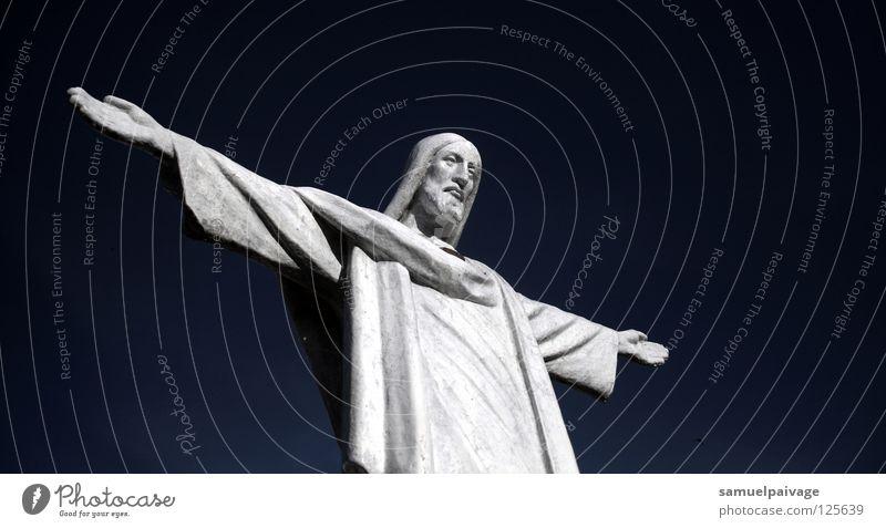 Bild Himmel Image Götter Gotteshäuser historisch Frieden Céu imagem crito braços abertos Sky God