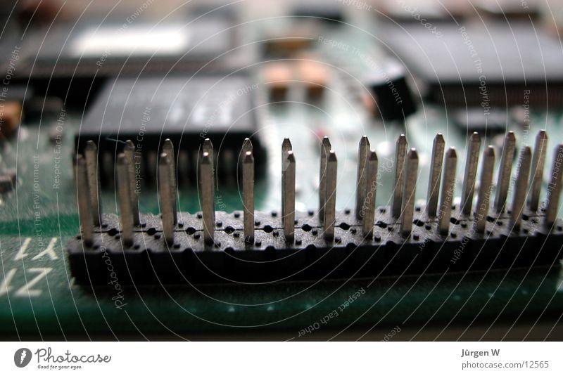 Ohne Anschluss grün Computer Dinge Mikrochip Platine