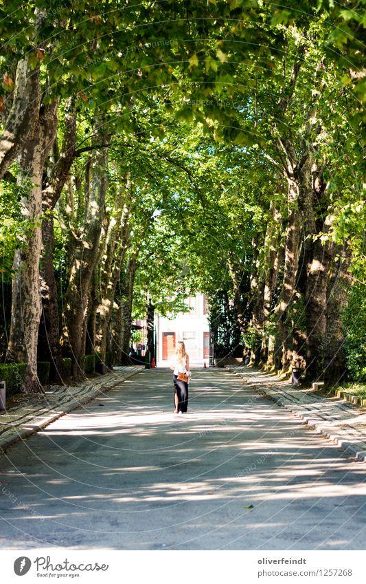 Porto VI Mensch Natur Ferien & Urlaub & Reisen Jugendliche Stadt Sommer Junge Frau Sonne Baum Erholung ruhig Ferne 18-30 Jahre Wald Erwachsene Umwelt