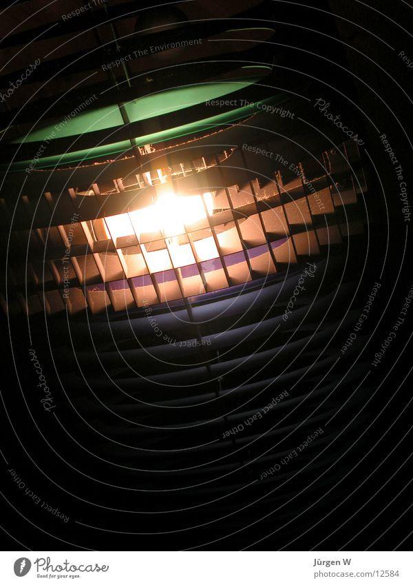 Lampe hell Dinge Gitter Lamelle