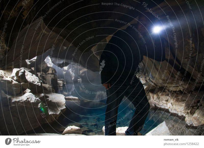 Auf der Suche nach dem verschollenen Fotografen Mensch maskulin Junger Mann Jugendliche Erwachsene 1 18-30 Jahre Natur Pflanze Urelemente Erde Wasser beobachten