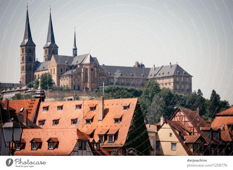 Tourist Magnet Stadt Sommer rot ruhig Haus Gefühle grau Stein Deutschland Design Häusliches Leben ästhetisch genießen Ausflug fantastisch Lächeln