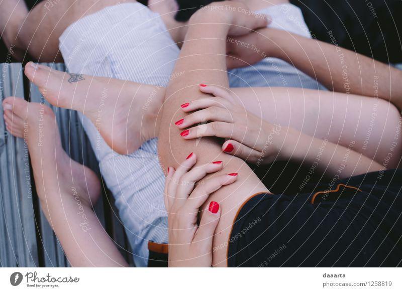 schön Erholung Freude Wärme Leben Liebe Gefühle Stil Lifestyle Freiheit Stimmung Zusammensein Freundschaft wild Freizeit & Hobby elegant