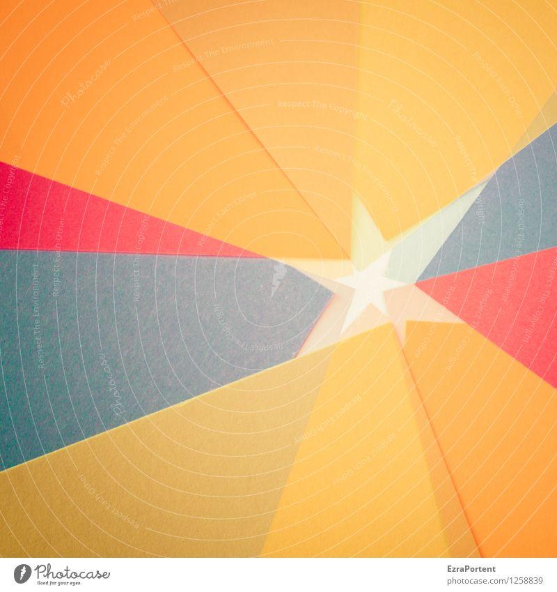 SternundSternchen elegant Stil Design Freizeit & Hobby Spielen Basteln Zeichen Linie ästhetisch mehrfarbig orange rot schwarz Farbe Strukturen & Formen Werbung
