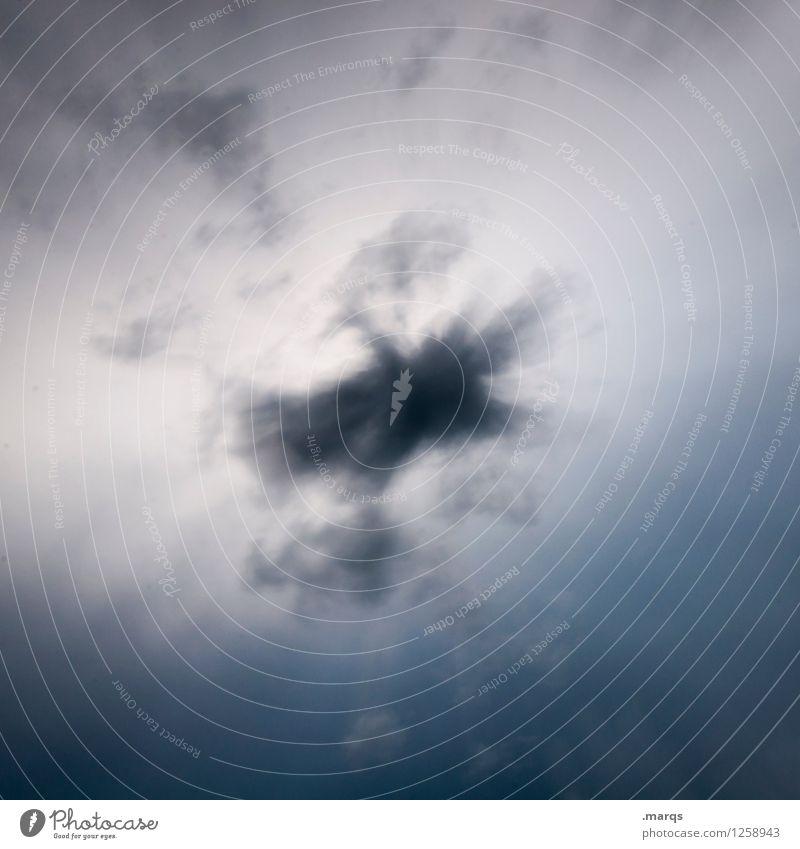 Cloud Himmel Natur Wolken Stimmung leuchten Klima bedrohlich Unwetter schlechtes Wetter Gewitterwolken Endzeitstimmung