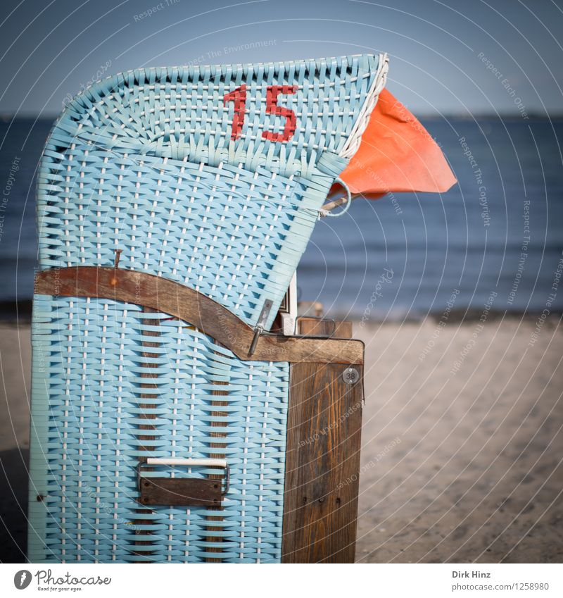 Strandtag IV Lifestyle Umwelt Natur Sand Wasser Himmel Sommer Wellen Küste Bucht Ostsee Meer Ferien & Urlaub & Reisen Freizeit & Hobby Gelassenheit Kultur Leben