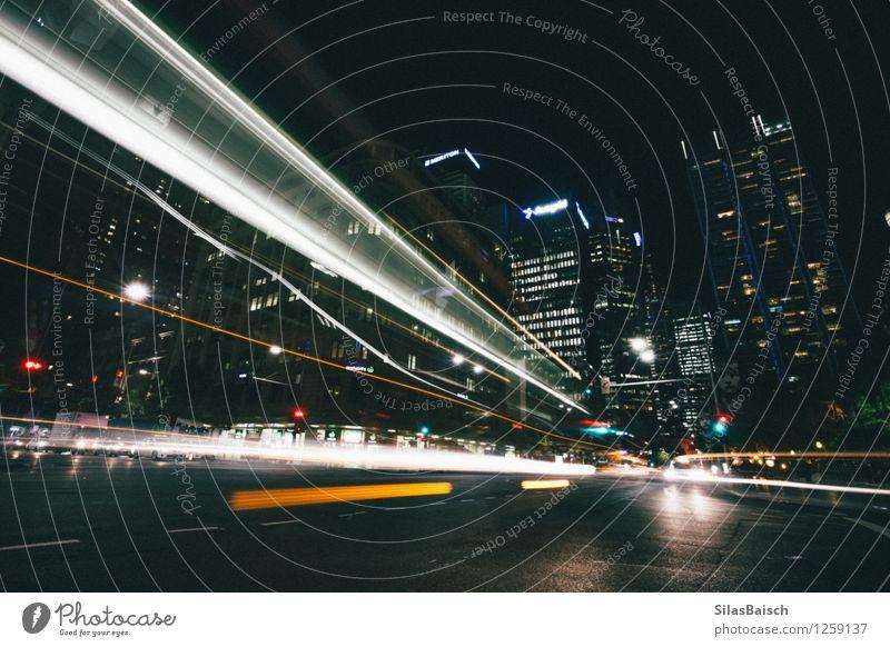 Stadt Vibe Mondfinsternis Stadtzentrum bevölkert überbevölkert Architektur Sehenswürdigkeit Verkehr Autofahren Busfahren Verkehrsstau Straße Straßenkreuzung