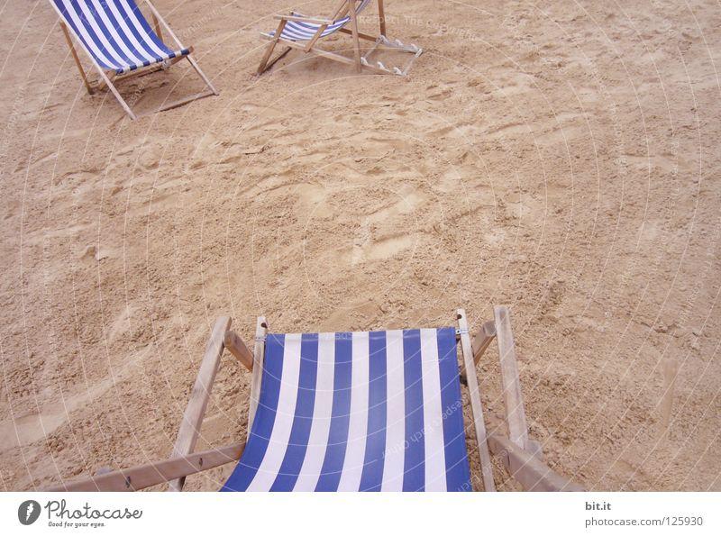 RUHEPLATZ III Natur blau Sommer Ferien & Urlaub & Reisen Strand Meer ruhig Erholung Freiheit Stil Sand träumen Küste See braun 2