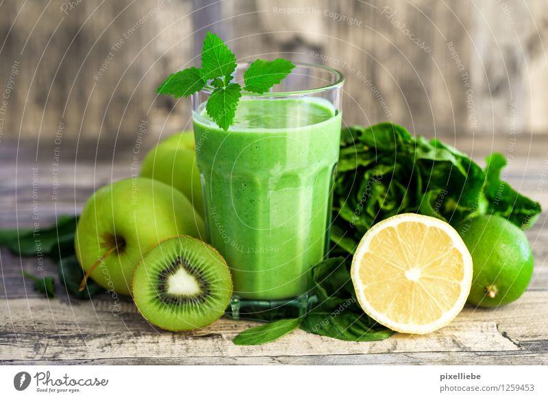 Grüne Energie Blatt Gesunde Ernährung Leben Holz Gesundheit Lifestyle Lebensmittel Frucht Glas Tisch Getränk Kräuter & Gewürze Küche trinken Wellness