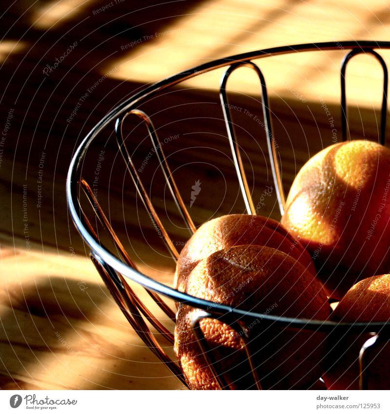 Breakfast at Tiffany Erholung Ernährung Orange Frucht Tisch genießen Korb Schalen & Schüsseln Vesper Sonntag Wochenende