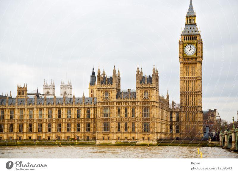 alte Architektur in England London Europa Ferien & Urlaub & Reisen Stadt weiß Haus schwarz Gebäude Religion & Glaube Stein Design Tourismus Büro Tür Aussicht