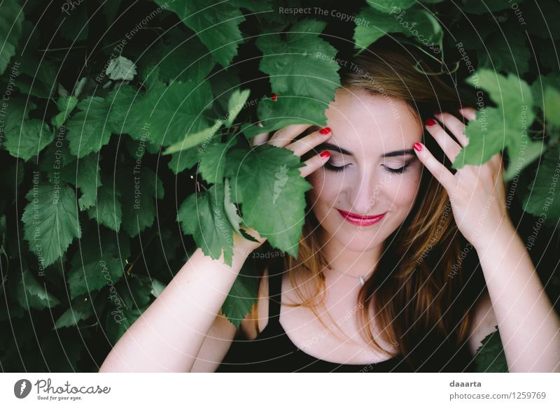 flirten elegant Stil Freude Kosmetik Schminke Nagellack Leben Sinnesorgane Freizeit & Hobby Sommer Flirten frech Freundlichkeit Fröhlichkeit frisch lustig