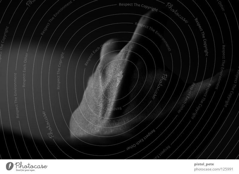 hab's gleich Mensch Hand Haut Arme Finger Falte Gefäße Körperteile