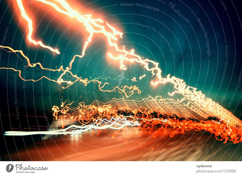 nach einem km rechts abbiegen Himmel schön Ferien & Urlaub & Reisen Ferne Straße Farbe Leben Gefühle Landschaft Bewegung Erde Linie Zeit Horizont Ausflug Verkehr