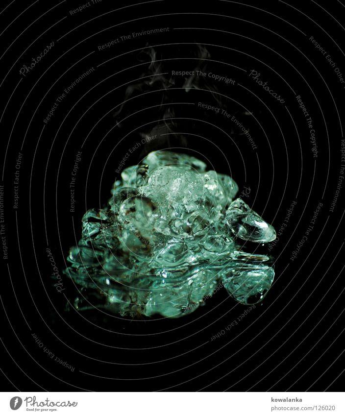 eis heiß Winter kalt Stein Wärme Eis Dekoration & Verzierung Physik frieren edel Edelstein Wasserdampf Diamant Verdunstung dämpfen