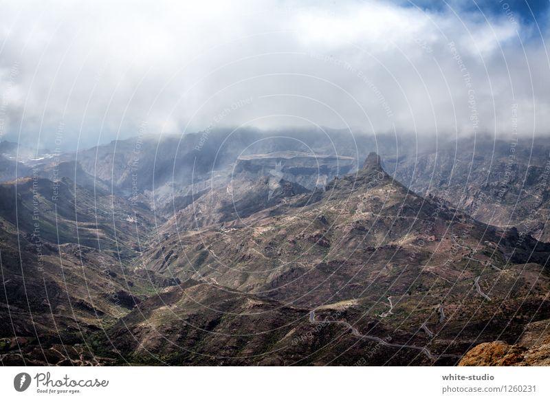 Einsame Spitze Natur Ferien & Urlaub & Reisen Landschaft Ferne Berge u. Gebirge Umwelt wild wandern Abenteuer Klima Schlucht Wildnis Naturschutzgebiet