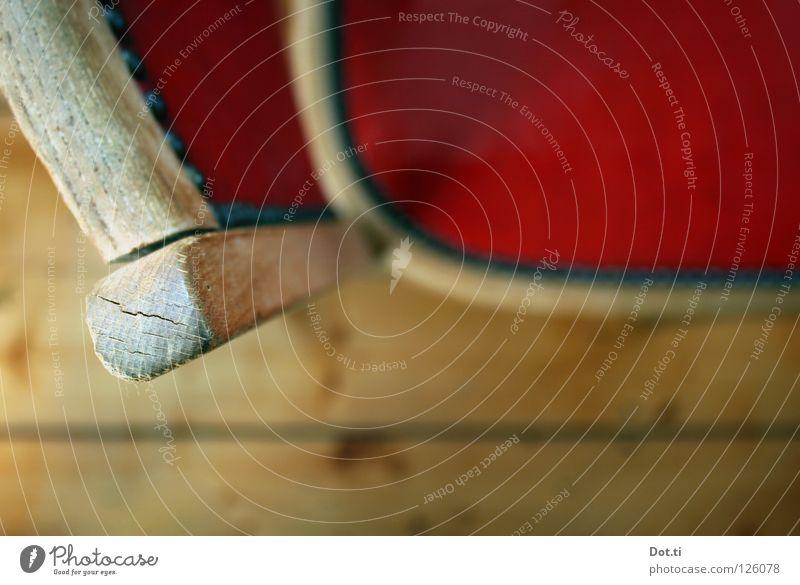 Verein für geselliges Künstlerleben rot Holz Wohnung frei Küche rund Bank Stuhl Boden Bodenbelag Häusliches Leben Gastronomie Innenarchitektur Café Möbel