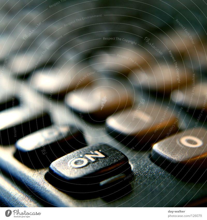 allzeit bereit Computer Taschenrechner Beschriftung Unschärfe Oberfläche Erleichterung Makroaufnahme Nahaufnahme Elektrisches Gerät Technik & Technologie