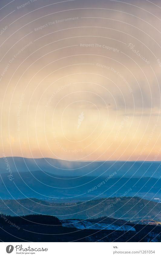2-Minuten-Landschaft Himmel Ferien & Urlaub & Reisen Sonne Erholung Winter Berge u. Gebirge Umwelt Freiheit Felsen Erde wandern Ausflug einzigartig Abenteuer