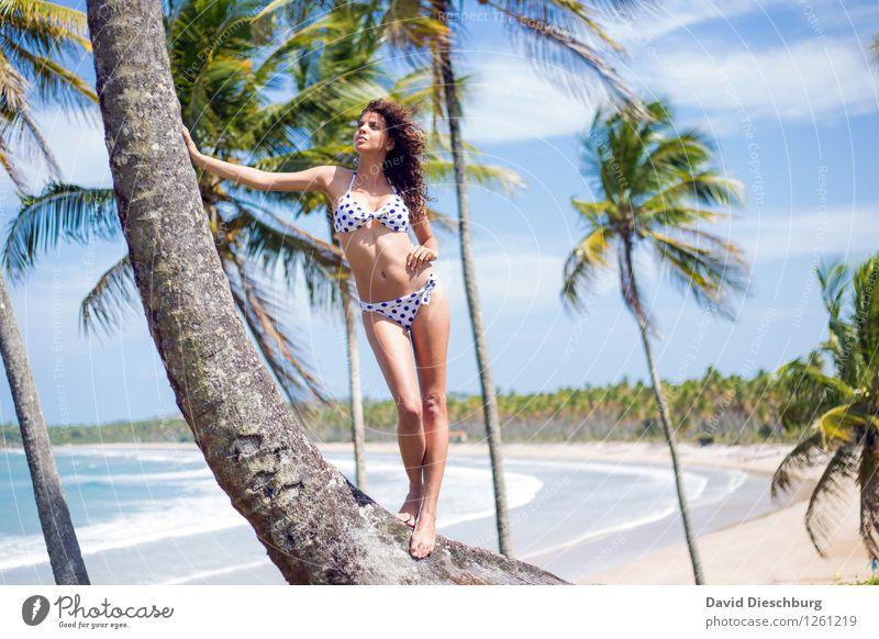 Ilha da Sereia Mensch Himmel Natur Ferien & Urlaub & Reisen Jugendliche Sommer Junge Frau Baum Erholung Meer Landschaft Wolken Ferne Strand 18-30 Jahre