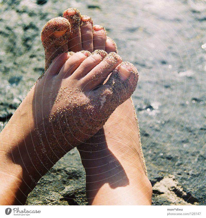 happy without shoes II Freude Glück Pediküre Wellness harmonisch Wohlgefühl Zufriedenheit Erholung Spa Massage Ferien & Urlaub & Reisen Freiheit Sommer