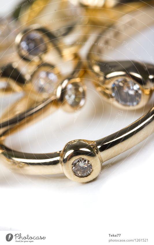 Trauringe Reichtum elegant Stil Design Valentinstag Hochzeit Kunst Mode Gold Zeichen Herz Liebe gelb Beginn ästhetisch Partnerschaft Ende Tradition Ehering