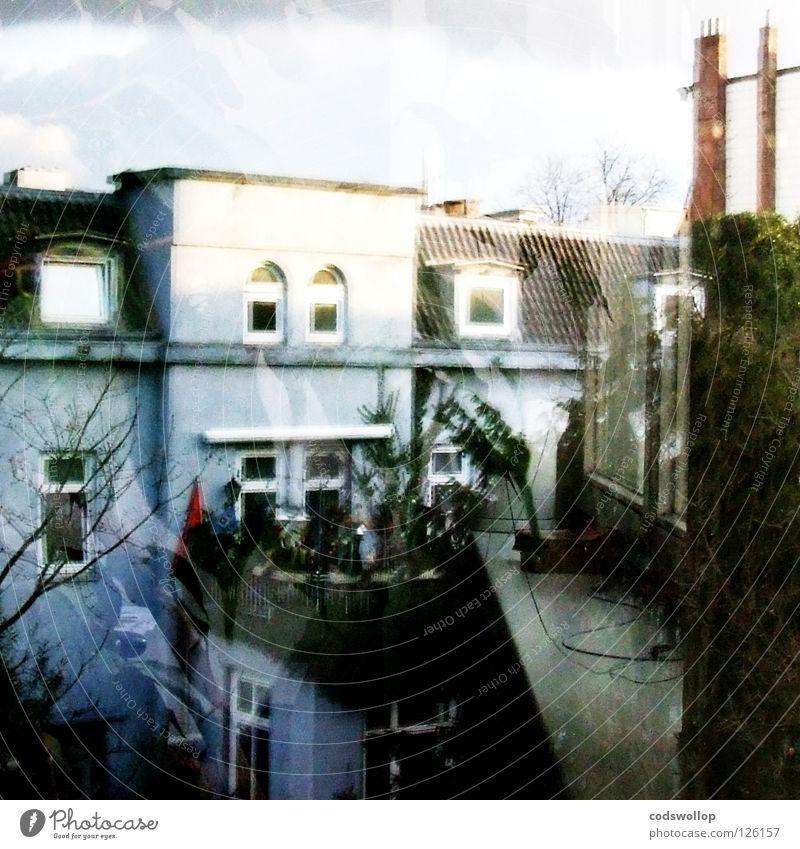 daydream believer Haus Denken Pause Aussicht Langeweile Fensterbrett Tagtraum Gesprächspartner
