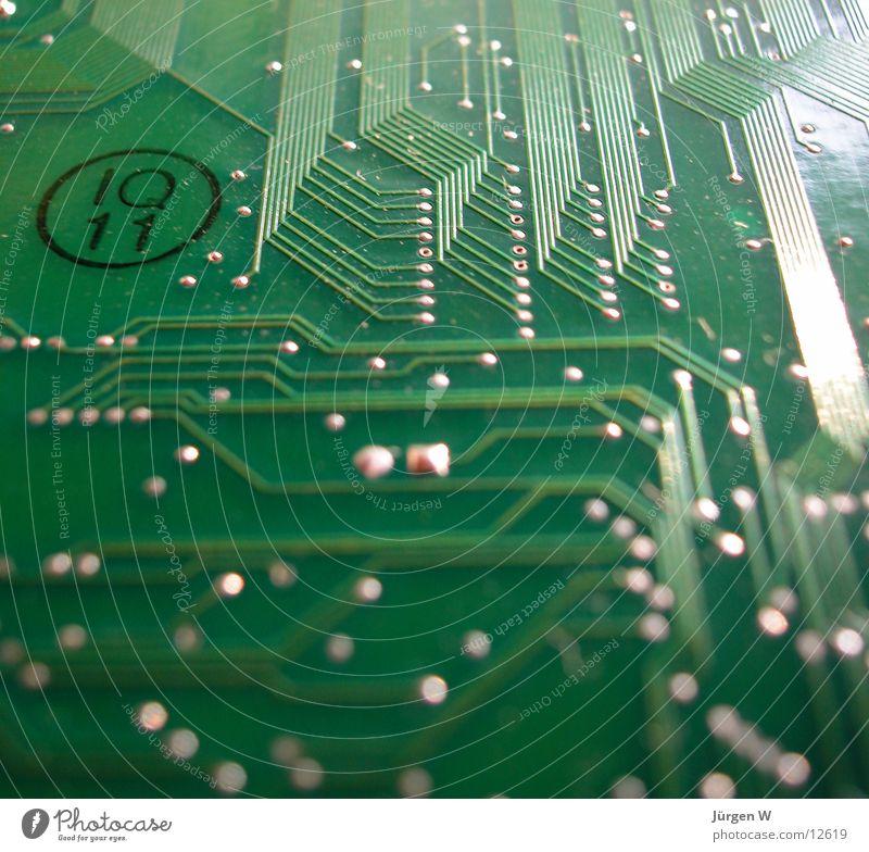 Labyrint grün Computer Technik & Technologie Dinge Informationstechnologie Elektronik Platine Elektrisches Gerät