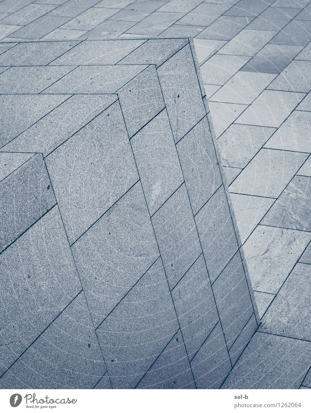 blckfc Stadt kalt Wand Architektur Gebäude Mauer Linie Arbeit & Erwerbstätigkeit modern ästhetisch Beton Ecke Bauwerk eckig Am Rand Arbeitsplatz