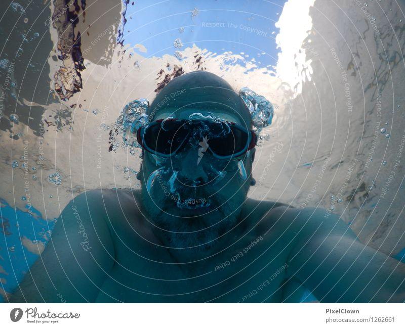 Unterwassermonster Lifestyle Reichtum sportlich Fitness Wellness Wohlgefühl Freizeit & Hobby Ferien & Urlaub & Reisen Tourismus Sommerurlaub Sport